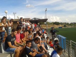 Lleno en La Oliva para ver al Real Madrid