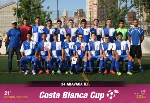 Jugadores de Aravaca y Rayo Majadahonda compartieron equipo