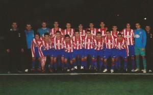 El equipo rojiblanco donde jugó Munir